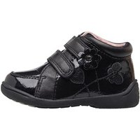 Start-Rite Infant Girls Patent Boots G Fit Black Leather/Patent