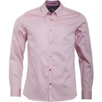 Ted Baker Mens Herules Long Sleeve Oxford Shirt Red