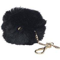 Ted Baker Womens Lolaa Fluffy Character Bag Charm Black