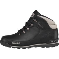 Timberland Mens Euro Rock Hiker Leather Boots Black