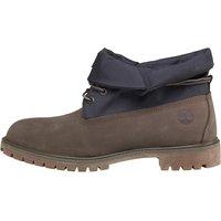 Timberland Mens Roll Top Cordura Boots Light Grey