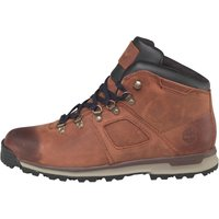 Timberland Mens GT Scramble Mid Leather Hiker Boots Dark Brown