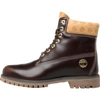 Timberland Mens 6 Inch Premium Boots Mid Brown