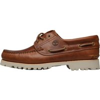 Timberland Mens Chilmark 3 Eye Handsewn Boat Shoes Sahara