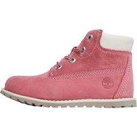 Timberland Infant Girls Pokey Pine 6 Inch Boots Pink