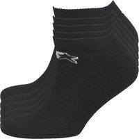 Starter Mens Five Pack Sports Socks Black
