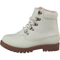 Truffle Collection Girls Boots Cream