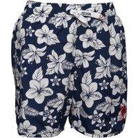 U.S. POLO ASSN. Boys Crespo Swim Shorts Medieval Blue