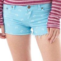 Urban Beach Womens Butterfly Shorts Light Blue