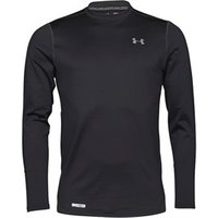 Under Armour Mens ColdGear Evo Fitted Long Sleeve Crew Neck Top Black