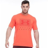 Under Armour Mens Charged Cotton Big Logo Top Red