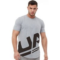 Under Armour Mens Charged Cotton Sportstyle Branded Top White