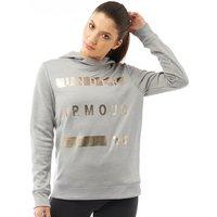 Under Armour Womens Armour Fleece Hoodie Grey