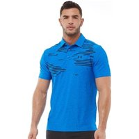 Under Armour Mens Playoff Polo Blue Circuit/Blue Circuit