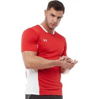 Under Armour Mens Challenger II Training Top Red/White/White