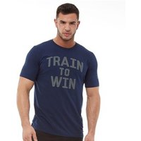 Under Armour Mens Charged Cotton Train To Win Top Academy/Graphite