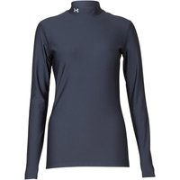 Under Armour Womens ColdGear Compression Long Sleeve Mock Top Black
