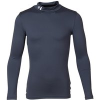 Under Armour Junior ColdGear Evo Fitted Long Sleeve Mock Top Black