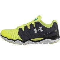 Under Armour Mens Micro G Optimum Neutral Running Shoes Lead/Hi Viz Yellow/Metallic