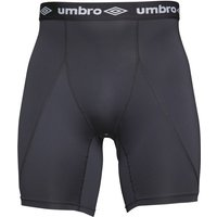 Umbro Mens Compression Baselayer Power Shorts Black