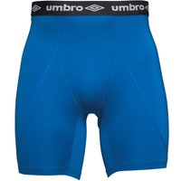 Umbro Mens Compression Baselayer Power Shorts Royal