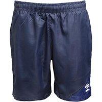 Umbro Junior Boys Teamwear Woven Training Shorts Dark Navy/Blueprint