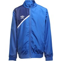 Umbro Junior Boys Teamwear Woven Training Jacket Royal/Blue/White