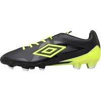 Umbro Mens Velocita Premier HG Football Boots Black/Yellow/White