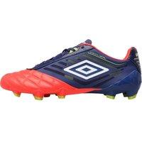 Umbro Mens Medusae Pro HG Football Boots Cobalt/White/Coral/Sulphur