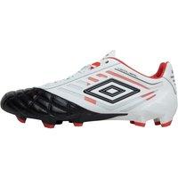 Umbro Mens Medusae Pro HG Football Boots White/Black/Grenadine
