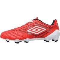 Umbro Mens Medusae Pro HG Football Boots Grenadine/White/Black