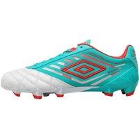 Umbro Mens Medusae Pro HG Football Boots Dawn Blue/Fiery Red/Spectra Green