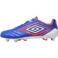 Umbro Mens Medusae Pro SG Football Boots Dazzling Blue/White/Coral