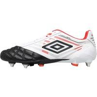 Umbro Mens Medusae Pro SG Football Boots White/Black/Grenadine