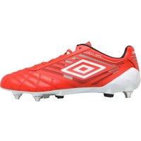 Umbro Mens Medusae Pro SG Football Boots Grenadine/White/Black