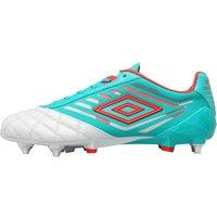 Umbro Mens Medusae Pro SG Football Boots Dawn Blue/Fiery Red/Spectra Green