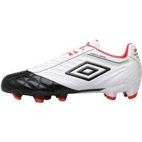 Umbro Mens Medusae Premier HG Football Boots White/Black/Grenadine
