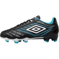 Umbro Junior Medusae Premier HG Football Boots Black/White/Bluebird
