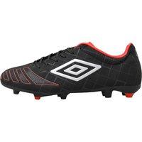 Umbro Mens UX Accuro Premier HG Football Boots Black/Metal/Grenadine