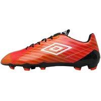 Umbro Mens Velocita II Pro HG Football Boots Grenadine/White/Lime Green/Black