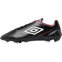 Umbro Mens Velocita II Pro HG Football Boots Black/White/Grenadine