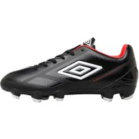 Umbro Junior Velocita II Premier HG Football Boots Black/White/Grenadine
