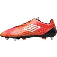 Umbro Mens Velocita II Pro SG Football Boots Grenadine/White/Lime Green/Black