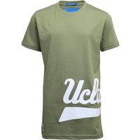UCLA Boys Printed Script T-Shirt Oil Green