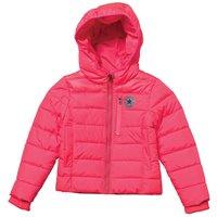 Converse Junior Girls Mid Weight Polyfill Core Jacket Pink