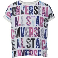 Converse Junior Girls All Over Printed T-Shirt Print Party