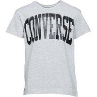 Converse Junior Girls Collegiate T-Shirt Lunar Rock Heather