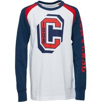 Converse Boys Long Sleeve Collegiate Raglan T-Shirt White
