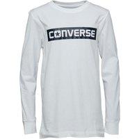 Converse Junior Boys Wordmark T-Shirt White