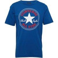 Converse Junior Chuck Patch T-Shirt Blue Jay